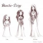 Différents âges de Blanche-Neige