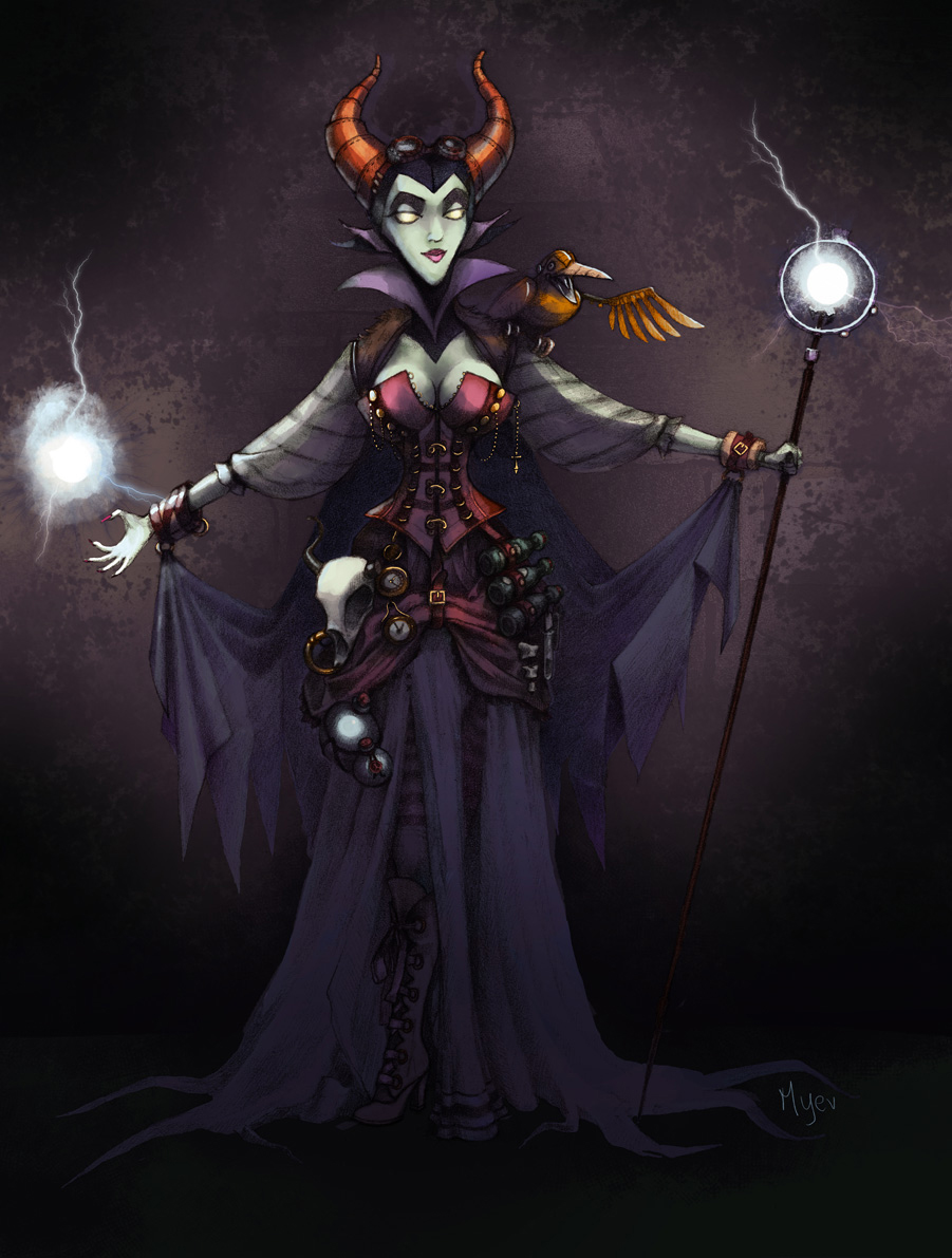 maleficent steampunk
